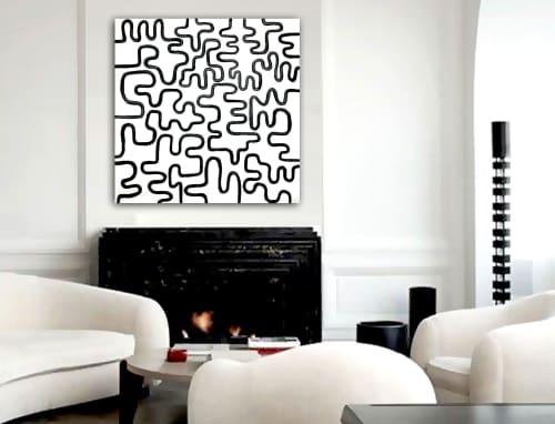 'PLASTiC FANTASTiC'   Paintings by Linnea Heide contemporary fine art