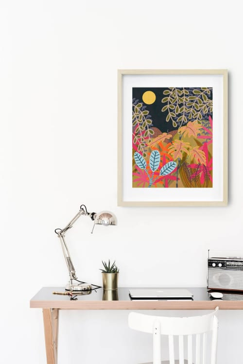 Paintings by Birdsong Prints - Jungle Botanical Print