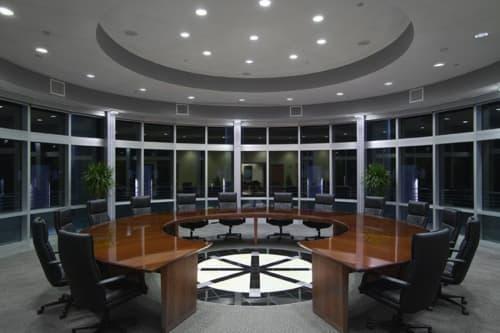 Hubbell Lighting Headquarters | Lighting Design by Darkhorse Lightworks, LLC