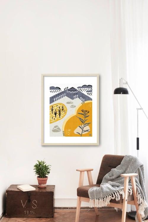 Paintings by Birdsong Prints - Southwestern Desert Art Print