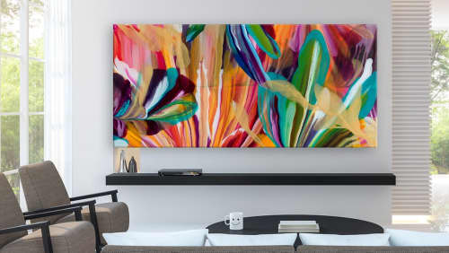 Murals by Terry Kruse seen at Private Residence, Calgary, Calgary - Amaranthine