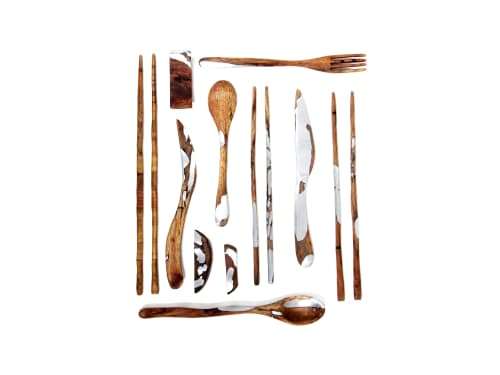 Utensils by Dorian Étienne • Design Studio at National Taiwan Craft Research and Development Institute - Alliance