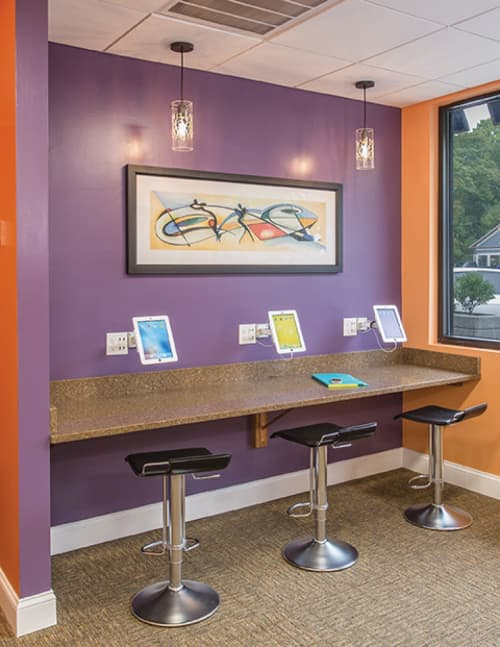 Woods Glass Pendant | Pendants by ILEX Architectural Lighting | ARCH Orthodontics in Westwood
