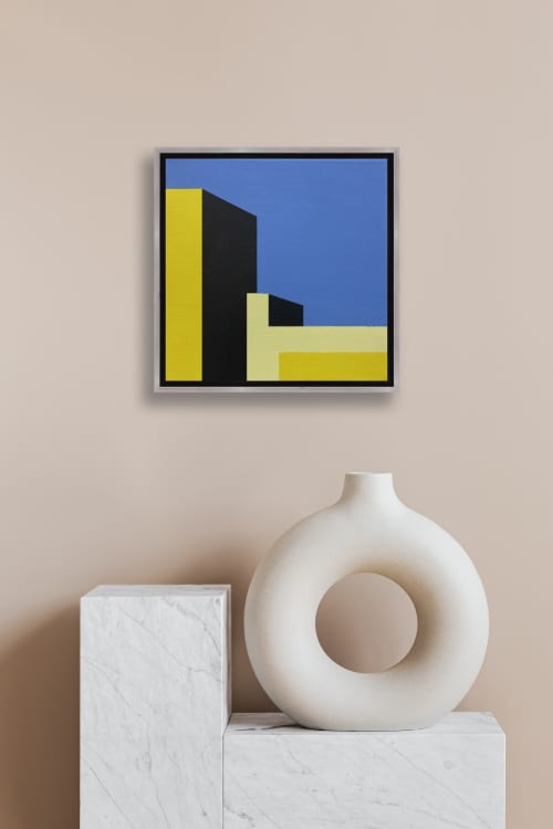Paintings by Marco Domeniconi Studio seen at Creator's Studio, New York - Astoria. 35th Ave