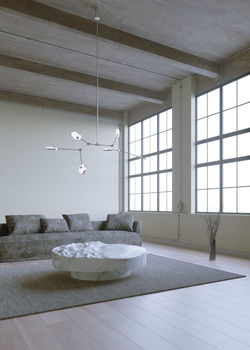 Chandeliers by Ovature Studios seen at Private Residence, Toronto - Joni Chandelier Config. 1