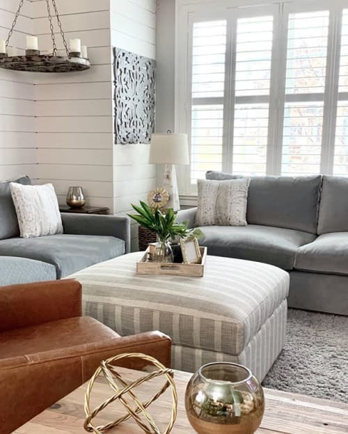 Interior Design by Jenna Nicole Interiors seen at Private Residence, Forest Hill, Forest Hill - Family Room Design