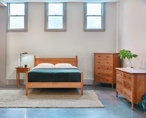 Beds & Accessories by Chilton Furniture Co. seen at Creator's Studio, Portland - MS1 Bed
