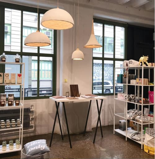 MushLume Trumpet Pendant   Pendants by Danielle Trofe Design   IC Store by WantedDesign in Brooklyn