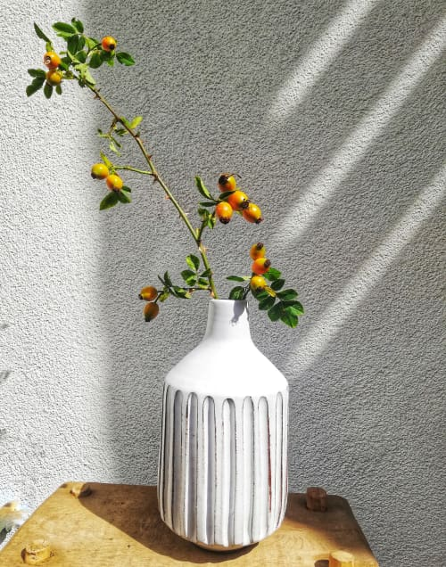 Plants & Flowers by nikisanceramics seen at Private Residence, Brussels - Vase
