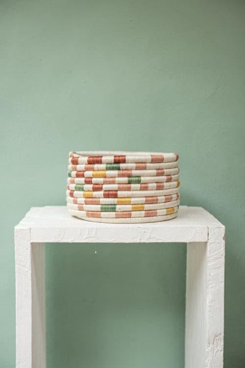 Art & Wall Decor by Zuahaza by Tatiana seen at Creator's Studio, Bogotá - Guacamaya Small Fique Woven Basket
