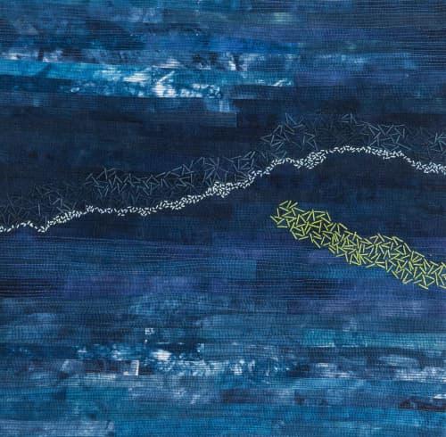 Paintings by Mardell Rampton Art - Passageways #2 (breakers)