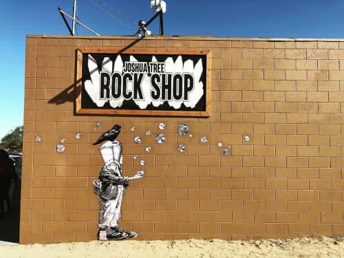 Innocent | Murals by Made of Hagop | Desert Institute at Joshua Tree National Park in Twentynine Palms