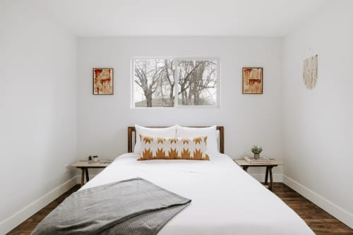 El Ochre   Pillows by Selva Studio