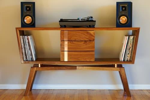 Furniture by Ryan Wells - Ryda Record Cabniet