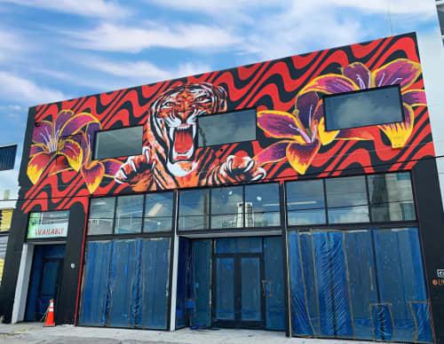 Wynwood Mural Festival / Art Basel Miami   Murals by Drake Arnold