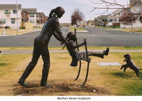 Martha's Haven Sculpture | Public Sculptures by Don Begg / Studio West Bronze Foundry & Art Gallery