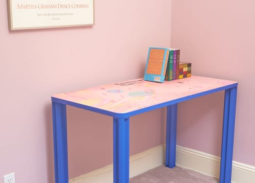 Nebula Desk | Tables by Chassie Studio | Upper East Side Apartments in New York
