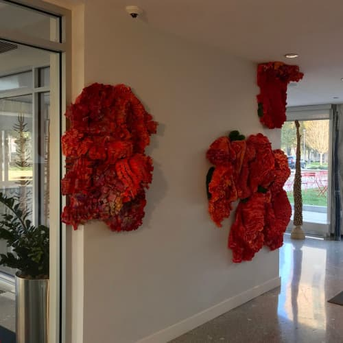 Mixed Media Installation | Art & Wall Decor by Margery Amdur | Park Towne Place Premier Apartment Homes in Philadelphia
