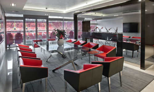 VIP Area Spartak   Interior Design by ALGA by Paulo Antunes   Otkrytie Arena in Moskva