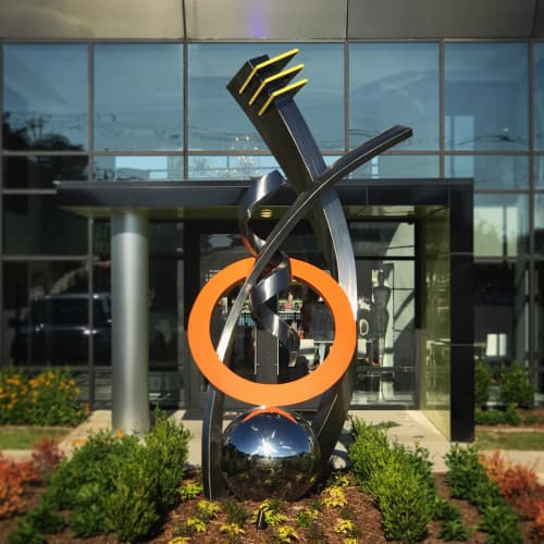 Legacy   Public Sculptures by Innovative Sculpture Design   The Pointe Brodie Creek Apartments in Little Rock