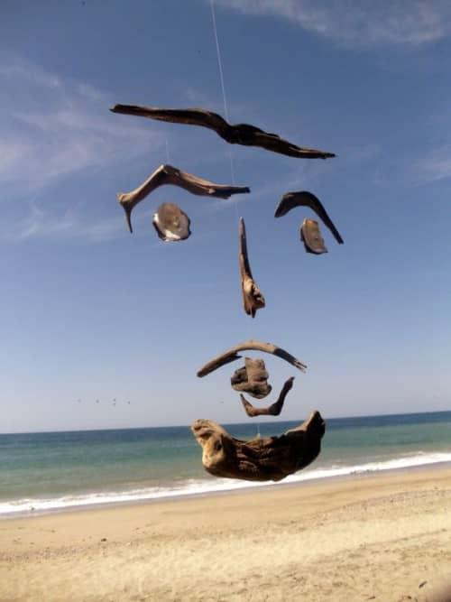 Face (Air Sculpture)   Sculptures by Jane Maroni Organic Design