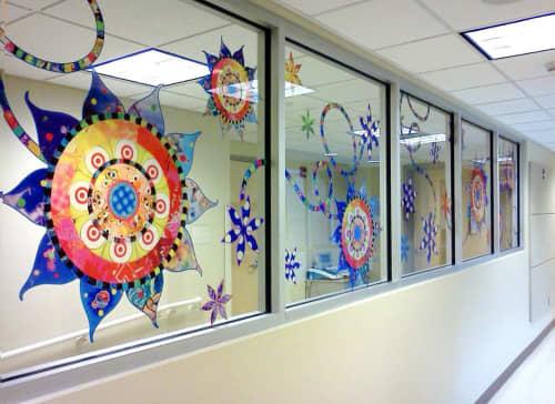 Art & Wall Decor by Virginia Fleck seen at University Hospital - University Health System, San Antonio - Luminous Loop 4ftw x 20ftl