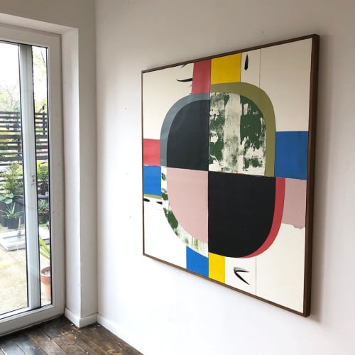 """""""Beyond II"""" Painting   Paintings by Jo Hummel"""