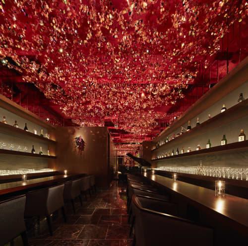 RICCA | Interior Design by Roito | 神楽坂bar 六花(RICCA) in Shinjuku City
