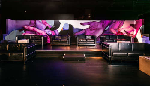 Daisy Chain   Murals by Taylor White   Home The Venue in Darling Harbour
