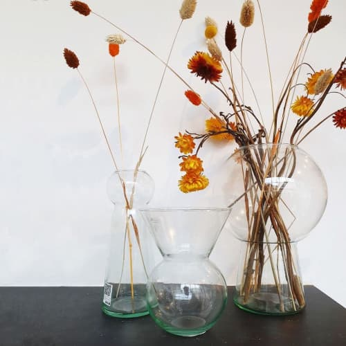 Vases & Vessels by Mieke Cuppen at Flotte conceptstore, Deventer - Totem Vases