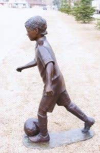 Gordie | Public Sculptures by Don Begg / Studio West Bronze Foundry & Art Gallery
