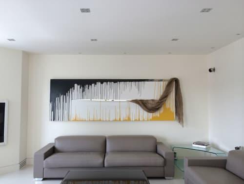 Paintings by Tibor Hargitai Art seen at Private Residence, Toronto - ONE LIFE 2014