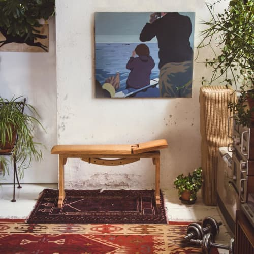 Tidewalker Workout Bench   Benches & Ottomans by Asa Pingree