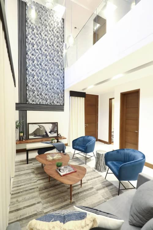 Wallpaper | Wallpaper by Neu Muri Designs | Private Residence, Quezon City in Quezon City