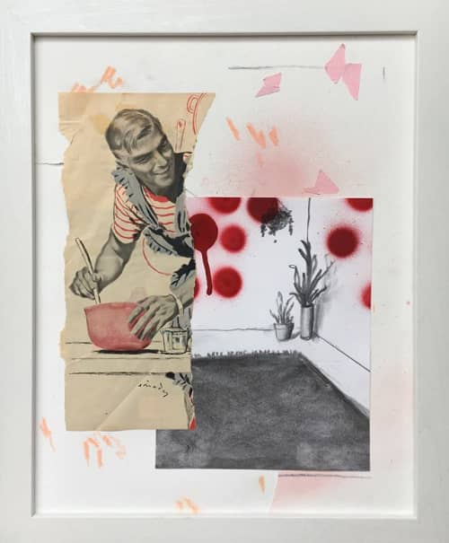 Art & Wall Decor by Baleigh Ann Kuhar seen at Private Residence, Seattle - Foolproof Cherry Pie