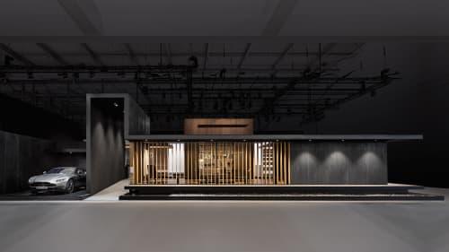 Booth at Eurocucina 2018, Gaggenau | Interior Design by 1zu33 Architectural Brand Identity