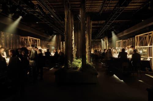 Restaurant 1683 New York, Gaggenau   Interior Design by 1zu33 Architectural Brand Identity