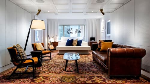 Rugs by ModernRugs.com at Hotel Fairmont The Queen Elizabeth, Montréal - Handmade Luxury Agra Rug