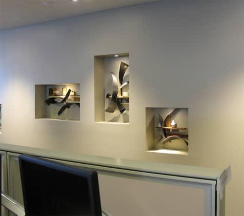 Sculptures by Craig Robb seen at IMA Colorado, Denver - Niches