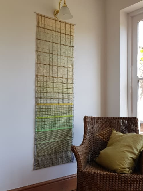 'Rice Terraces' Woven Hanging. | Art & Wall Decor by Jan Bowman Designs