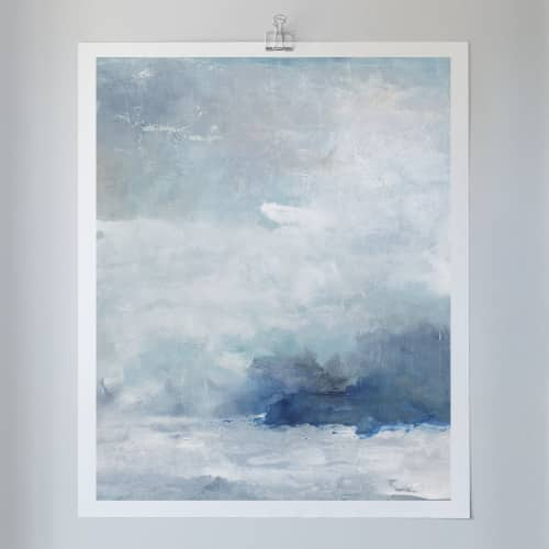 True North - Canvas Print   Paintings by Julia Contacessi Fine Art