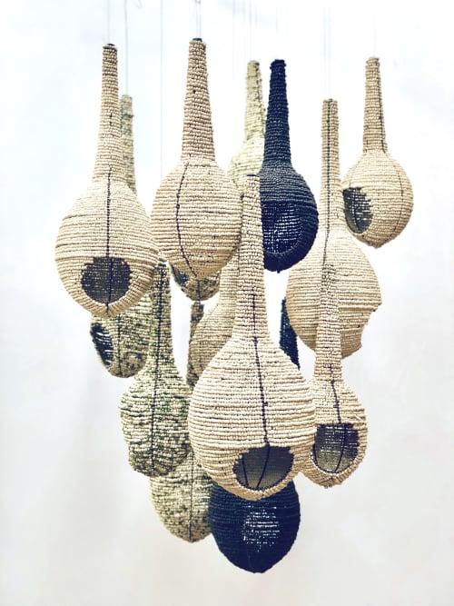 Weavers Nest   Pendants by Mud Studio, South Africa   Tswalu Kalahari Reserve in Kalahari CBDC