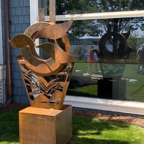 Sound Of The River | Sculptures by Hilde DeBruyne Art & Design LLC