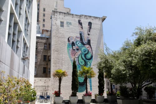 Peace | Street Murals by James Reka