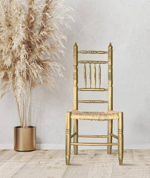 """Chairs by Habitat Improver - Furniture Restyle and Applied Arts seen at Creator's Studio, Lisbon - """"Moonshine Countryfied"""" by Habitat Improver"""
