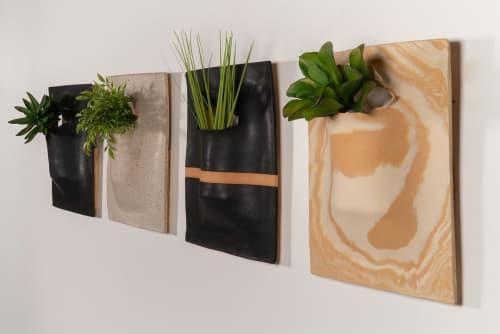 Hanging Slab-Dropped Planter   Vases & Vessels by Luke Shalan   Austin Proper Hotel in Austin