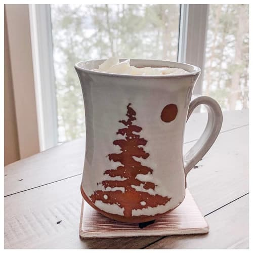 Large Muskoka/Landscape mugs | Cups by Dresser Clay and Design