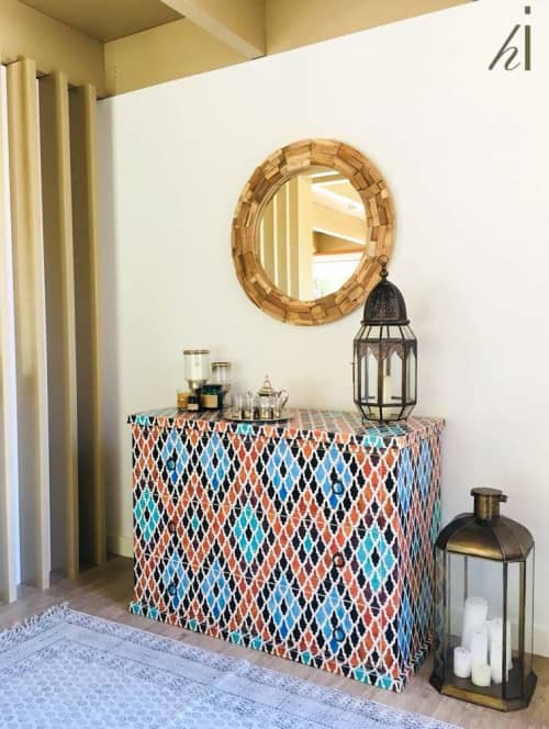 Furniture by Habitat Improver - Furniture Restyle and Applied Arts seen at Private Residence, Outão - Moroccan Baladi