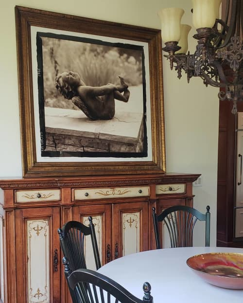 Photography by Pam Moxley Mixed Media seen at Private Residence, Atlanta - Cherub
