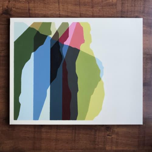 progression I | Paintings by Rafa Mateo